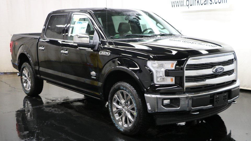 new 2017 ford f 150 king ranch in quincy f104393 quirk ford. Black Bedroom Furniture Sets. Home Design Ideas