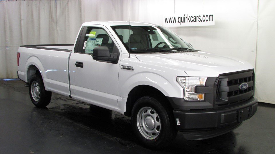 new 2016 ford f 150 xl regular cab pickup in quincy f101858 quirk ford. Black Bedroom Furniture Sets. Home Design Ideas
